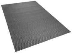 Licht-grijze Vloerkleed donkergrijs 140 x 200 cm KILIS