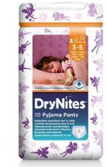 DryNites Absorberende Luierbroekjes Girl 3-5 jaar 10 stuks