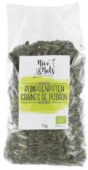 Nice&Nuts Pompoenpitten Nice & Nuts - Zak 1000 gram - Biologisch
