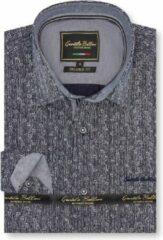Gentile Bellini Heren Overhemd - Slim Fit - The Pole Star - Blauw - Maat S