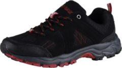HSM Schuhmarketing AIR STAR Damen Trail Runningschuh, Schwarz/Rot/39 /schwarz/rot