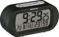 Nikkei NR05BK - Digitale Reiswekker met Snooze-functie - Zwart