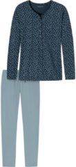 Schiesser Schlafanzug Single-Jersey Schiesser jeans