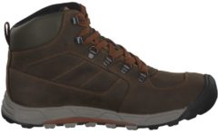 Wanderschuhe Westward Mid Leather WP mit wasserdichter Membran Keen Dark Olive/Rust