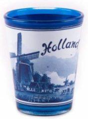 Matix Shotglas Delfts Blauw Holland Middle - Souvenir