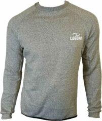 Legend Sports Sportsweater Heren Polyester Grijs Maat Xxs