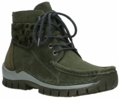 Hoge Sneakers Wolky 04725 Jump winter - 59730 forestgroen leer