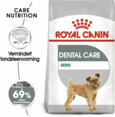 Royal Canin Care Nutrition Royal Canin Dental Care Mini Hondenvoer - 2 x 8 kg