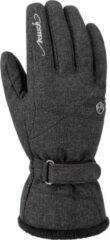 Donkergrijze Reusch Wintersporthandschoenen - Vrouwen - donker grijs
