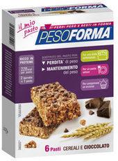 Tonacci aristide farmaceutici Pesoforma barretta cerealicioccolato 12 pezzi