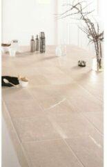 Fap Ceramiche Vloer- en wandtegel Maku 20x20 Light cm Natuursteenlook, Vintage Mat Wit SW0731200-1