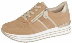 Zandkleurige Sneaker Remonte Zand