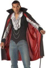 Zwarte California Costumes Vampire gentleman kostuum voor mannen - Verkleedkleding