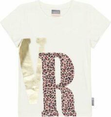 Vinrose Meisjes zomer t-shirt - Sneeuwwit VR