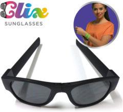 Clix Zonnebril ZonnebrilVouwbare zonnebril Vormt naar je hoofd - Zonnebril