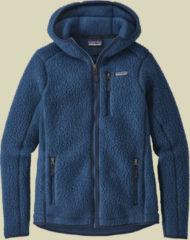 Patagonia Retro Pile Hoody Women Damen Fleecejacke Größe S stone blue