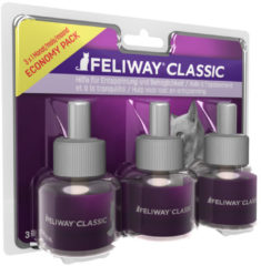 Feliway Anti-Stress Navulling Kat - Anti stressmiddel - 3x48 ml