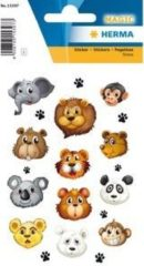 HERMA 15397 Stickers dierengezichten, stehen