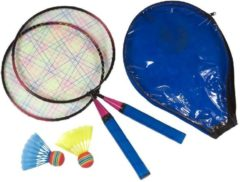 SportX Mini badmintonset voor kinderen - voordelige badminton set speelgoed