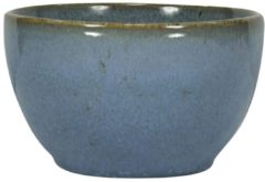 HEMA Schaal - 10 Cm - Porto - Reactief Glazuur - Blauw (blauw)