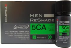 Goldwell - Men - ReShade - 5CA Koel As Lichtbruin - 4x20 ml