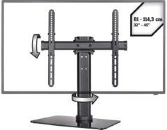 """Zwarte SpeaKa Professional SP-TT-04 TV-voet 81,3 cm (32"""") - 114,3 cm (45"""") Kantelbaar en zwenkbaar"""