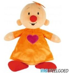 Studio 100 Bumba Babilu pluche knuffel 30 cm oranje