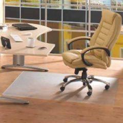 Transparante Floortex vloermat Computex voor harde oppervlakken rechthoekig formaat 120 x 150 cm