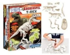 Clementoni - Scientific Games Clementoni Archeospel - T-Rex Fluor