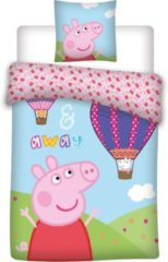 Baby Peppa Pig dekbedovertrekje 100 x 135 cm + 1 sloop 40 X 60 cm