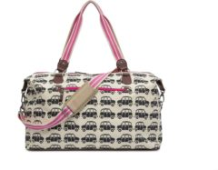 Pink Lining - Bridget Holdall - Black cabs-black and pink