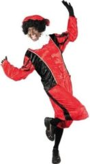 Paarse Roetveeg Pieten kostuum rood/zwart voor volwassenen XL (42/54)