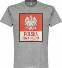 Merkloos / Sans marque Polen Centenary T-Shirt - Grijs - XXXL