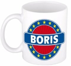 Shoppartners Namen mok / beker - Boris - 300 ml keramiek - cadeaubekers
