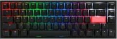 Ducky One 2 SF RGB (MX Silent Red, US Lay-out, RGB leds, TKL, PBT Double Shot)