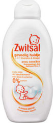 Zwitsal 2 in1 Shampoo & Wasgel Gevoelig Huidje (1 Fles van 200 ml)