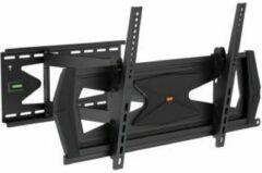 "Zwarte H-Tec Tv Muurbeugel - 46""-70"" (117-178 Cm) - Max. 40 Kg - Kantelbaar"