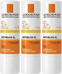 La Roche-Posay Anthelios Lipstick Zonnebrand SPF50+ - 3 x 4,7g