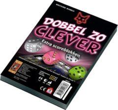 999 Games Scoreblokken Dobbel zo Clever twee stuks Dobbelspel