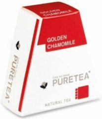 PureTea Pure Tea Golden Chamomile (Kamille) Biologische Thee - 2 x 18 stuks