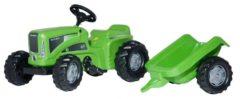 Rolly Toys 620005 RollyKiddy Futura Tractor met Aanhanger
