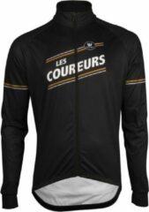 Zwarte Fietsshirt Vermarc Les Coureurs Mid-Season Vest X20 M