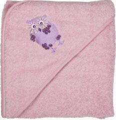 Pippi - Badcape - roze - Maat One Size (83 x 83 cm)