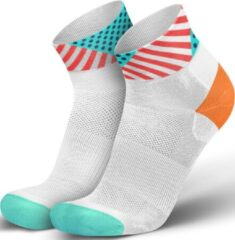 Blauwe Incyclence Incylence Low Triathlon Sock Wild Inferno