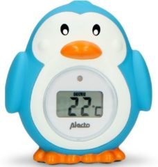 Alecto BC-11 Badthermometer Pinguin - Nauwkeurige meting badwater- en kamertemperatuur - Blauw