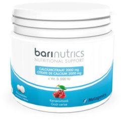 Metagenics Barinutrics Calciumcitraat Kers Kauwtabletten