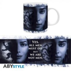 Witte ABYSTYLE Game of Thrones - 2 Queens Mug 320ml