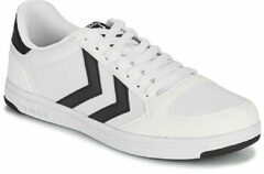 Witte Lage Sneakers Hummel STADIL LIGHT CANVAS