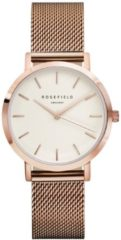 Rosefield The Tribeca White Rose Gold horloge TWR-T50