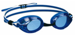 Professionele Zwembril Voor Volwassenen - Blauw/wit